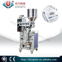 2016 New design salt packing machine/packing machine for salt/small bag packing/stable and nice