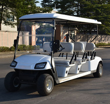 Good quality used 6 seats electric golf cart CE approved golf buggy