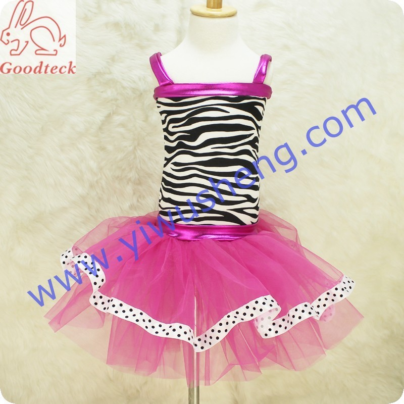 2015 fashion summer cotton tops party baby girls dress designs,Wholesale fashion design zebra tutu,baby clothes/girls dresses
