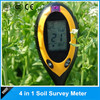 Intelligent and multifunctional 4 in 1 Digital Soil Meter Ph Moisture Light soil tester