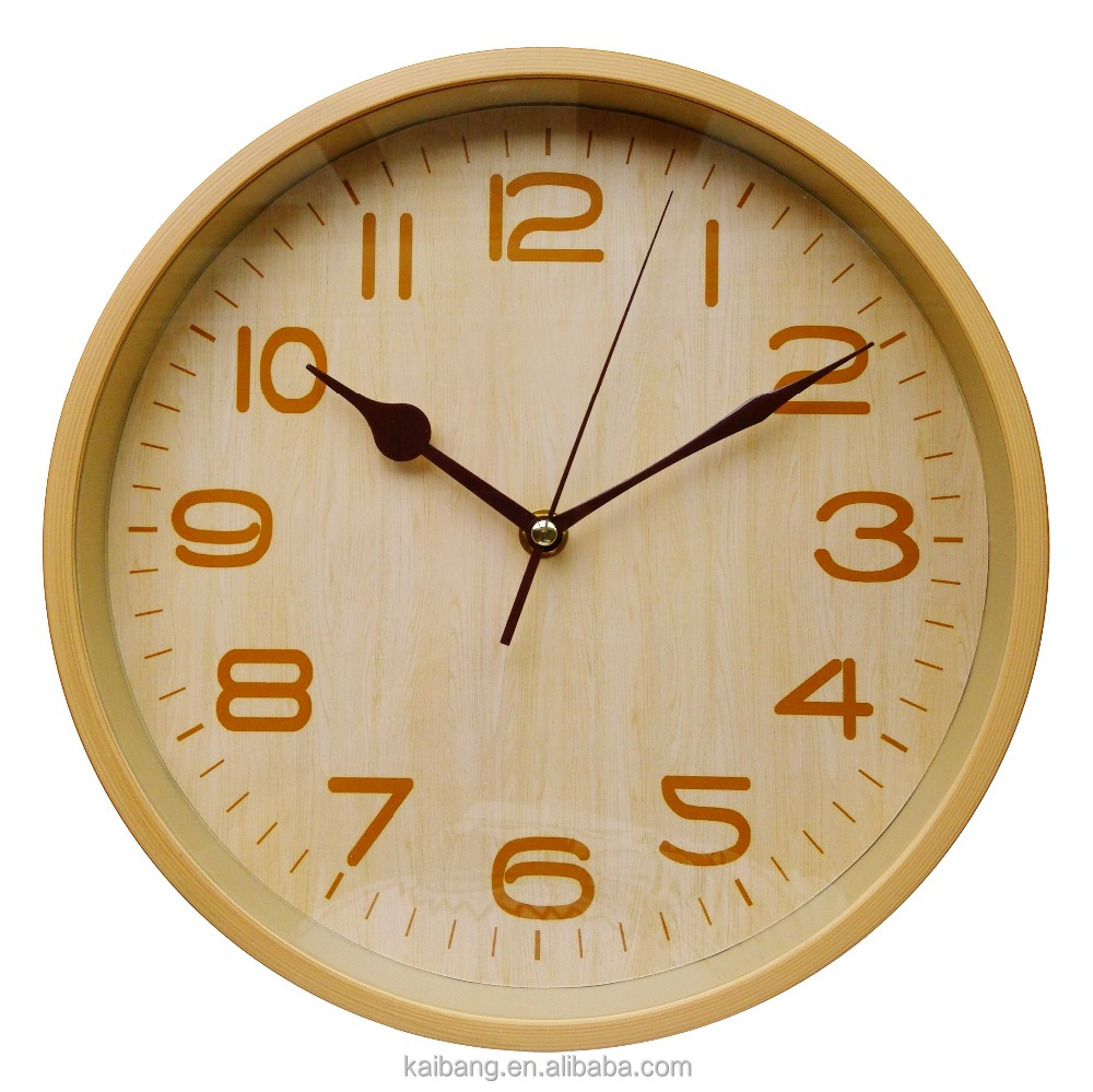 bamboo wall clock photo