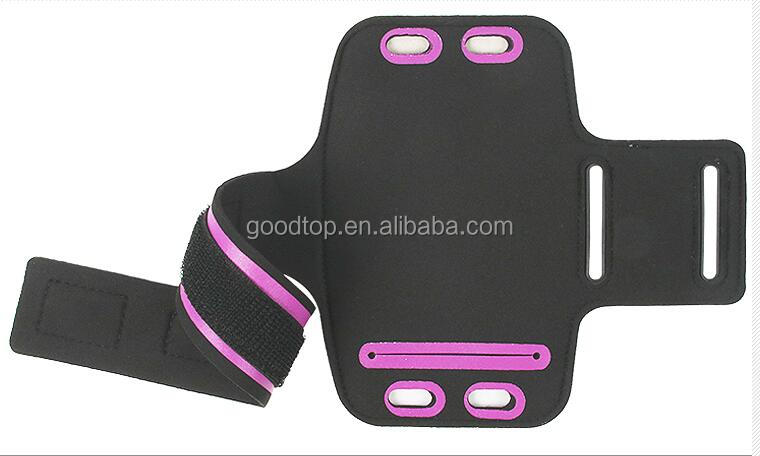 factory price adjustable running armband phone sleeve fit for Iphone