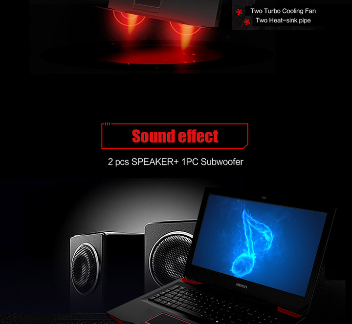 17.3 inch i7-7700HQ GTX 1060  16g ram 256g SSD 1tb HDD gaming laptop with RGB mechanical keyboard