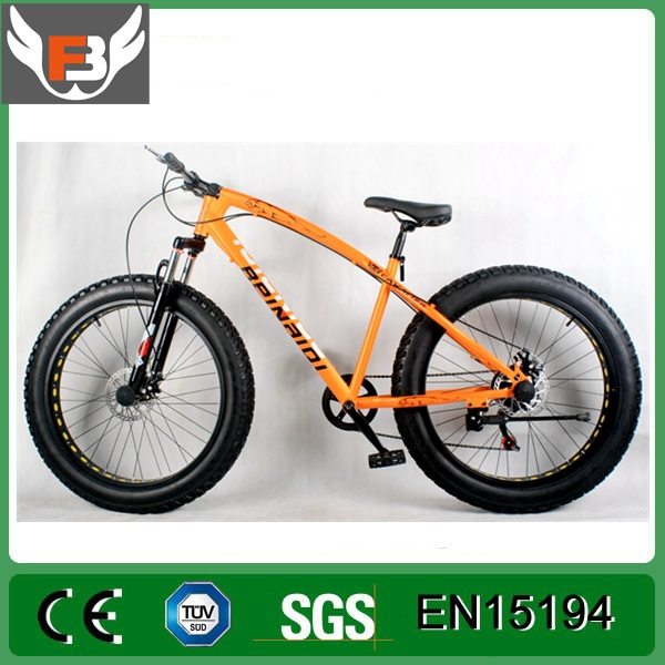 New Style Fat Tire Electric Bike/Bicycle, Beach Sport Ebike 8fun Bafang Motor Fat Tire Electric Bike