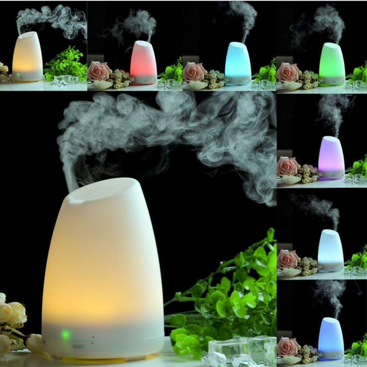 China 2016 Top Rated Good Price 13W 100ML 7 Colors Changing Light Aroma Diffuser OEM Ultrasonic Essential Oil Diffuser