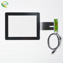 Industrial control panel cover glass+sensor glass EXC80H83/EXC3189/EXC3188 <strong>10</strong>.4&quot; capacitive touch screen