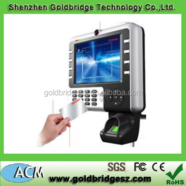 Full Touch Screen Biometric Access Control Iclock 2800
