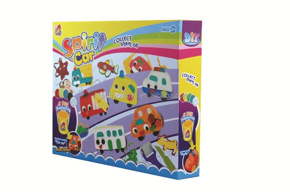 Colorful playdough fairy car game for children non -toxic ...