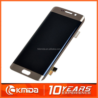 Mobile phone replacement lcd digitizer assembly For Samsung Galaxy S6 edge oem screen