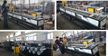 Embossed high quality PP strapping machine PP stretching straps extrusion line