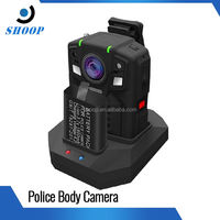 HD 1080P real-time video transmission 3G wifi body worn police camera recorder