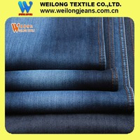 B1619-A 10oz cheap price pure cotton heavy dark blue denim jeans fabric for man wholesale in China