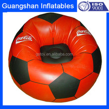 custom inflatable football bean bag chair