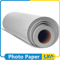China manufacturer new products rc glossy roll photo paper for plotter