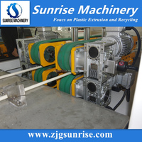 16-63mm PVC Double Pipe production Line / PVC Electric Conduit Pipe Making Machine