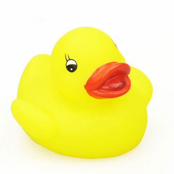 ICTI Factory Made Colorful LED Rubber Duck Baby Bath Toys