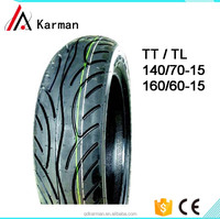 high performance motorcycle tires 160/60-15 from chinese manufacturer