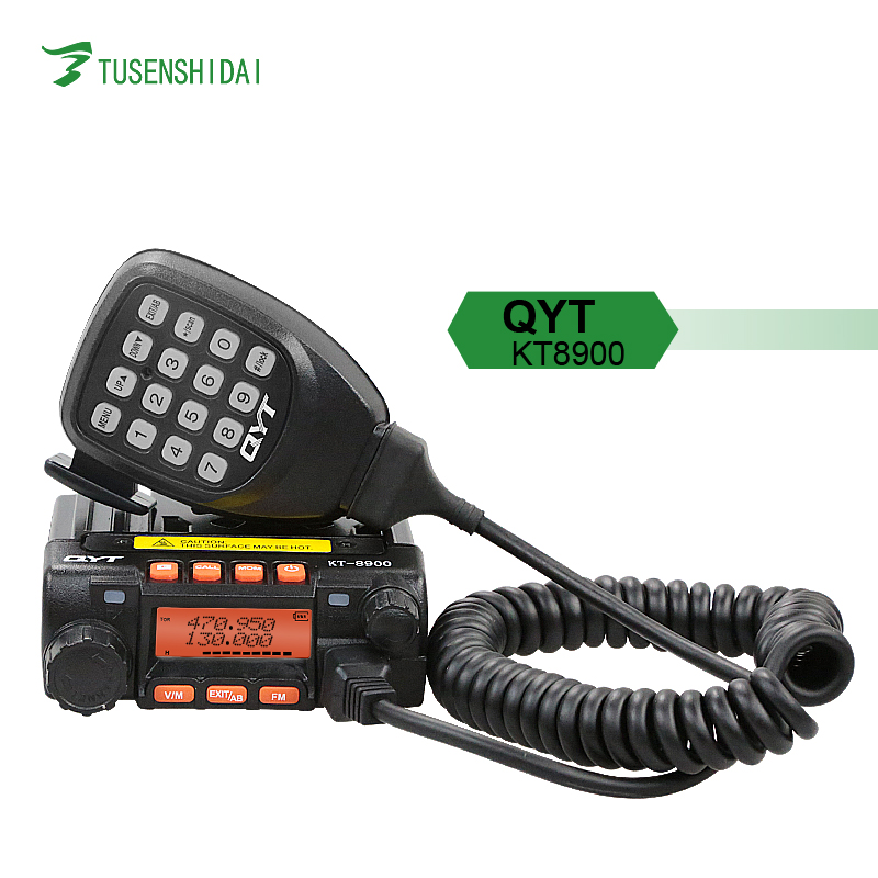 25W Dual Band Car Radio Transceiver QYT KT-8900 Mobile Walkie Talkie for <strong>Communication</strong>
