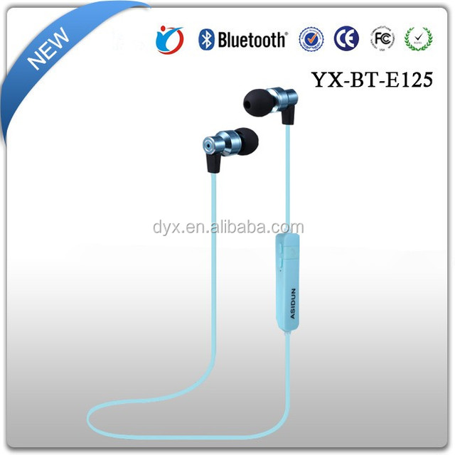 China Wholesale Universal Wireless Sport Headset Noise Cancelling Eardphone