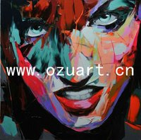 Modern handpainted wall art famous pop art paintings