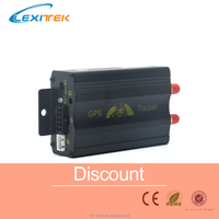Car Vehicle GPRS GSM SMS GPS Tracker Tracking System Device TK103A With Alarm