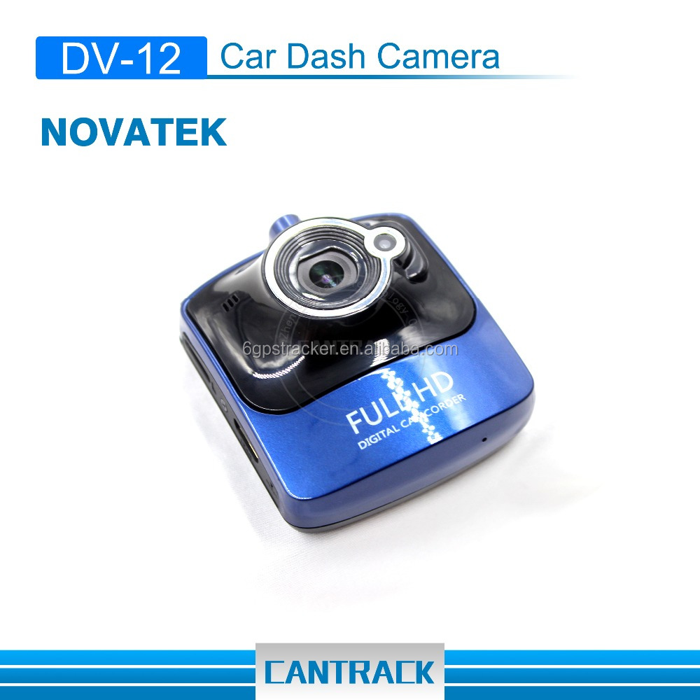 CanTrack New products night vision vehicle gps dash hd 1080 cam locked