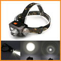 1800lm 3 Modes AAA 18650 Head Torch Outdoor Camping Fishing Zoomable Headlamp