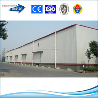 economical and easy installation customized prefab house steel structure building