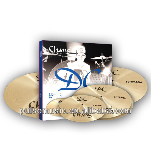 Chang cymbal set for drum for musical instrument