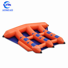 high quality 0.9mmPVC inflatable flying towables flying fish