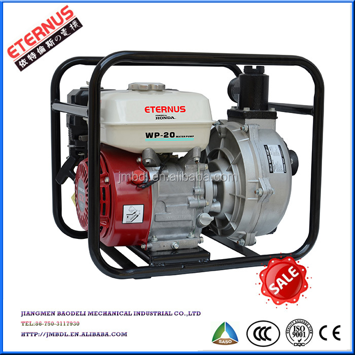 "Open-frame 5.5HP 2"" gasoline Water pump WP20"