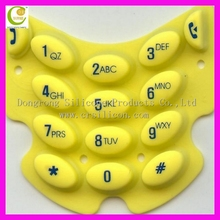 Best price custom made silicone button rubber keypad, Number Magnet silicone rubber keypad button