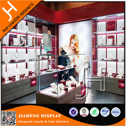 Used wholesale guangzhou acrylic glass display case with light