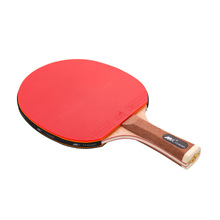 Small MQO Customized Standard Ping Pong Paddle Professional Poplar Wood Training Ping Pong Table Tennis Racket with Bag