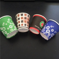 Buy China printed and cutted coffee paper cup 10oz