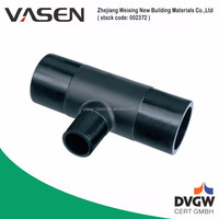 VASEN Hydraulic Power HDPE Socket Weld Lateral Reducing Tee Pipe Fitting Dimensions