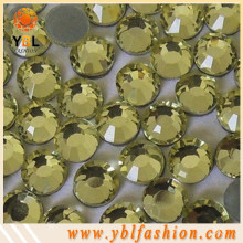 Low lead hotfix flatback rhinestones for bra decoration