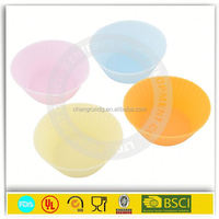 Large size flower shape cake baking cup / cake baking silicone mold for big size muffin cup