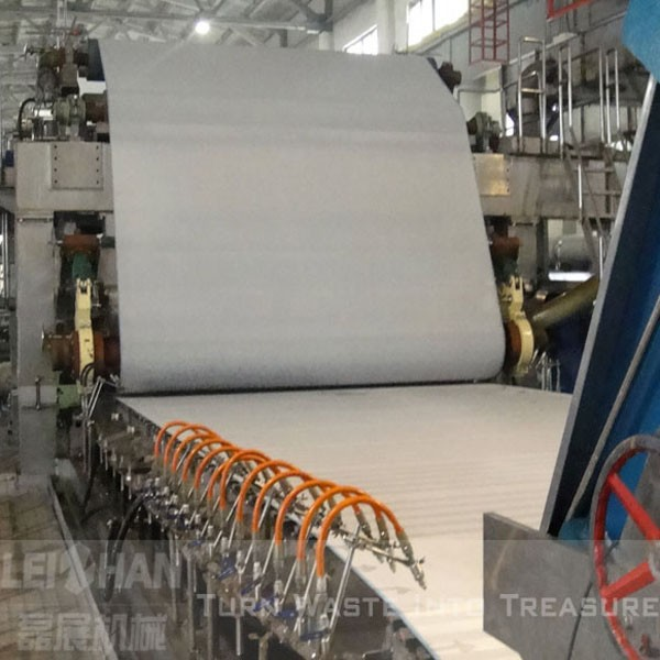 Fourdrinier newspaper making machine manufacturing process