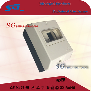 DZ808 GV IEC60947-2 CS2 Motor Protection Circuit Breaker with IP65 waterproof box MPCB CE certificated