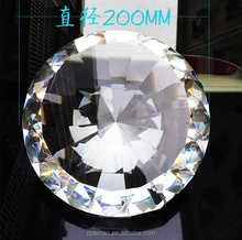 Hand Carved Faceted Crystal Diamond For Healing Large Plastic Diamond