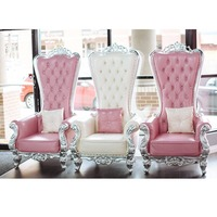 YM01 Carved Lion King Throne Chairs for Bride and Groom Wedding Chairs/ high back king throne chair, antique king throne