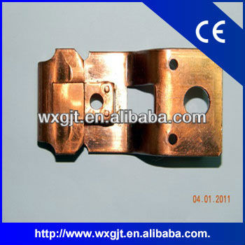 Cnc custom China OEM brass stamping parts for machinery/automobile