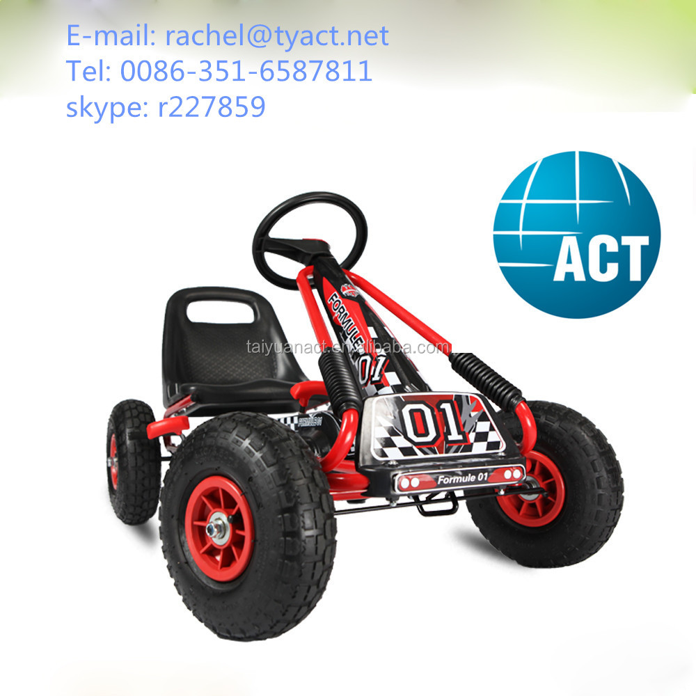 Sports Racing car No Engine Kids Pedal Go kart spare parts