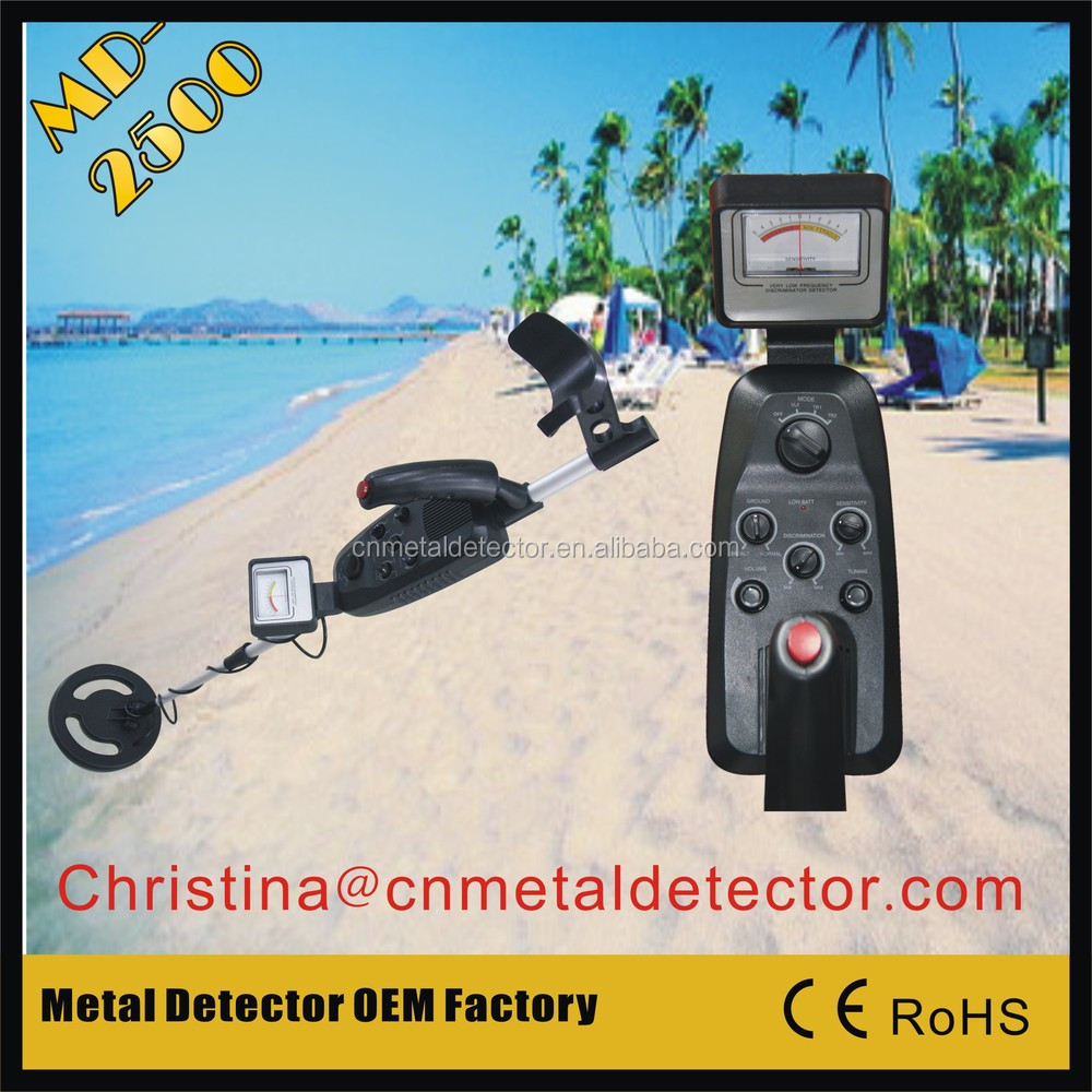 MD-2500 manufacturer of gold metal detector Ground search hobby gold detector
