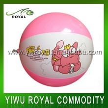 Children Cartoon Design Small PVC Free Inflatable Beach Ball