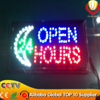 10 * 19 inch Animated Motion LED Business Vertical led Open Sign On/off Switch Bright Light Neon new innovation on china market