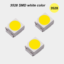 PLCC-2 3528 pure white 6000K SMD LED