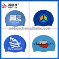 China professional adult silicone swimming hats