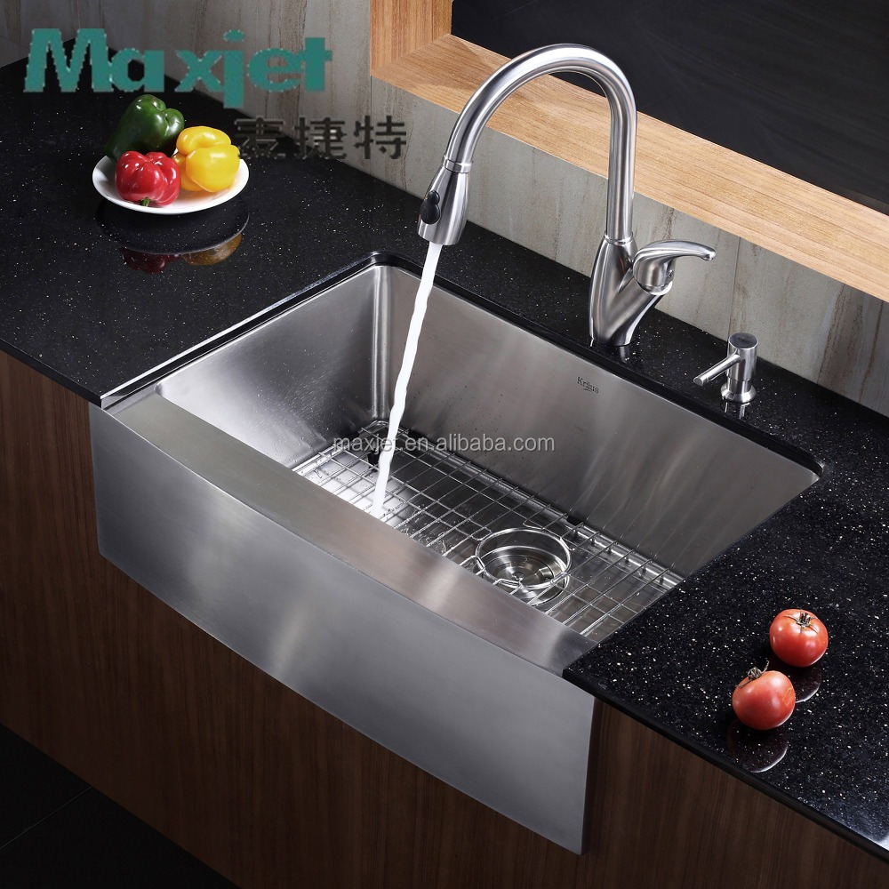 Maxjet Customized Stainless steel Single Apron Front Sinks